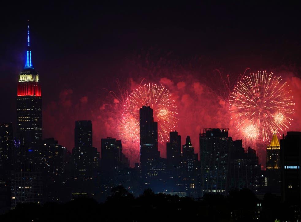 APTOPIX Macy's 4th of July Fireworks 2021