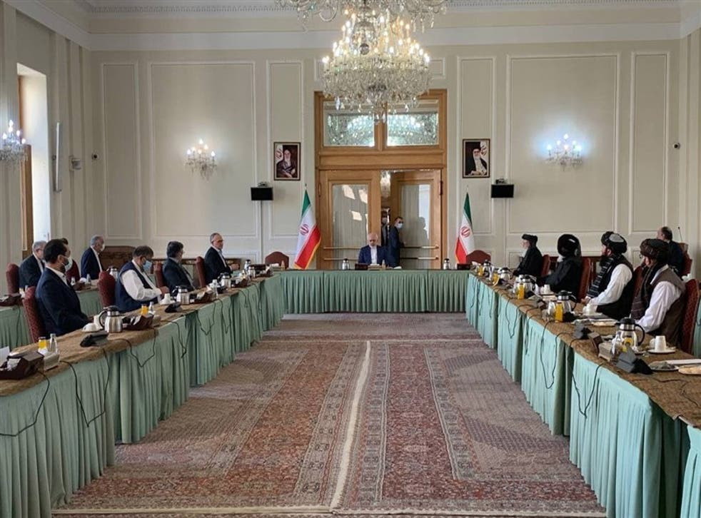 <p>The talks, held in Tehran, resulted in a statement in which both sides agreed that a peaceful solution  must be sought in Afghanistan</p>