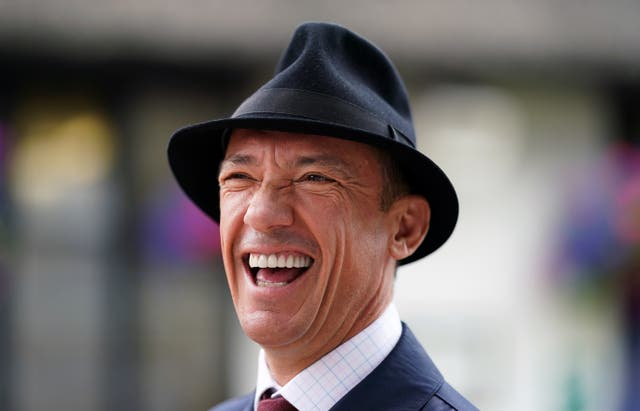 Frankie Dettori was at Wembley to see Italy beat Spain
