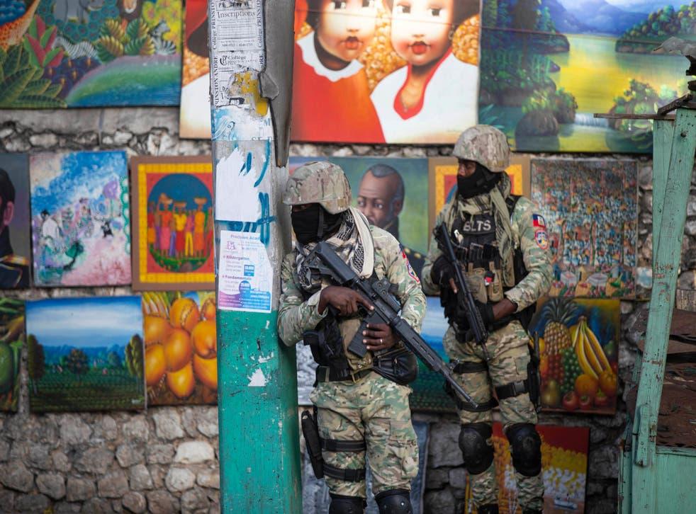 HAITI-PRESIDENTE ASESINADO