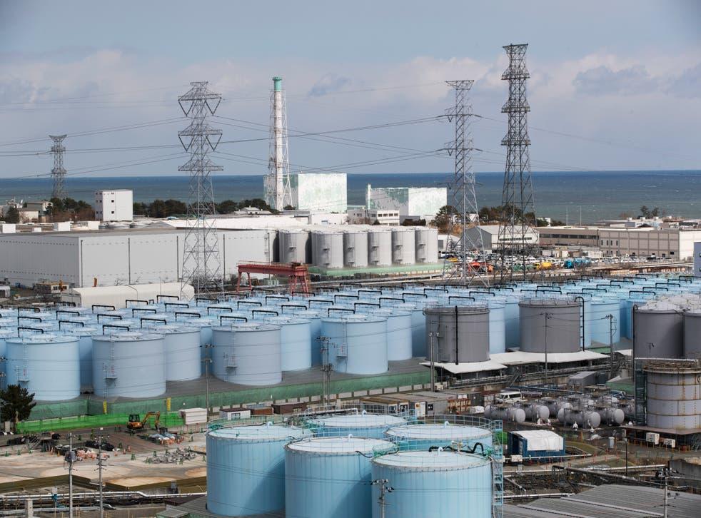 Japan Nuclear Fukushima Water