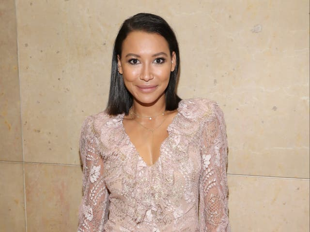 <p>Naya Rivera at a benefit on 7 October 2017 in Beverly Hills, California</p>