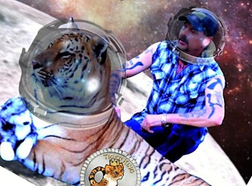 <p>Tiger King Coin claims to have the backing of imprisoned Netflix star Joe Exotic</p>