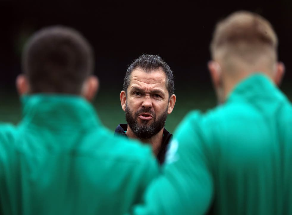 <p>Ireland head coach Andy Farrell has made a host of changes for the visit of the United States</p>