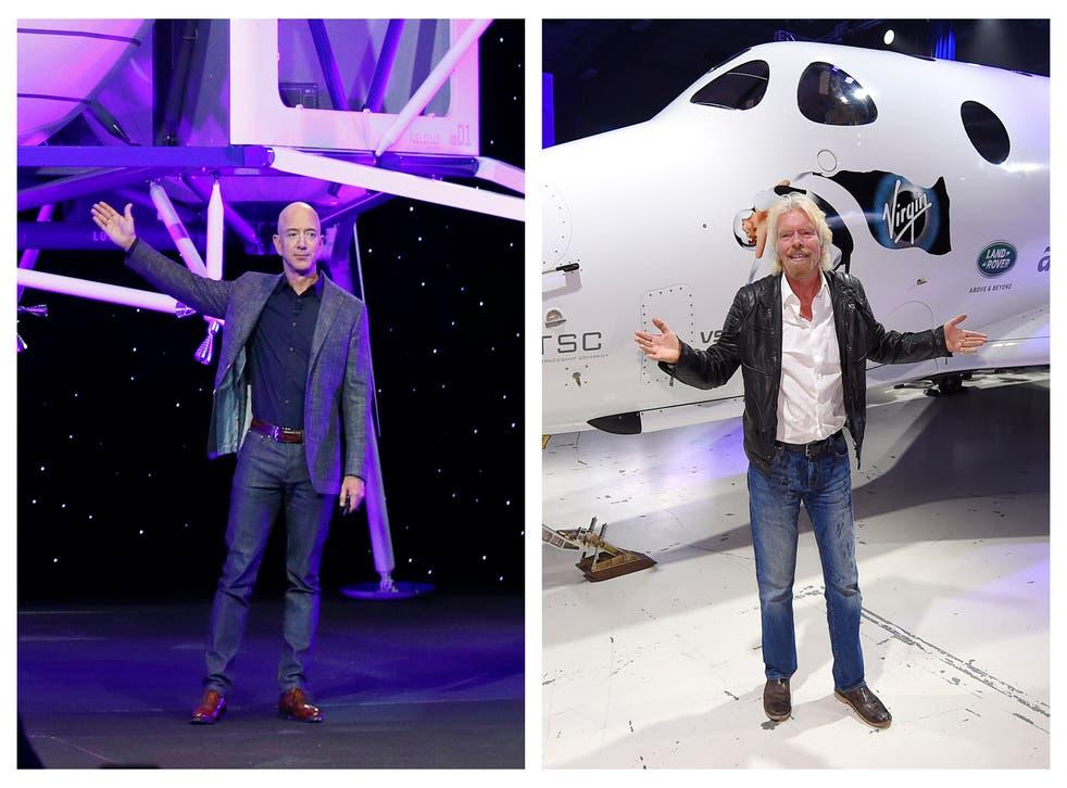 Billionaires Space Race