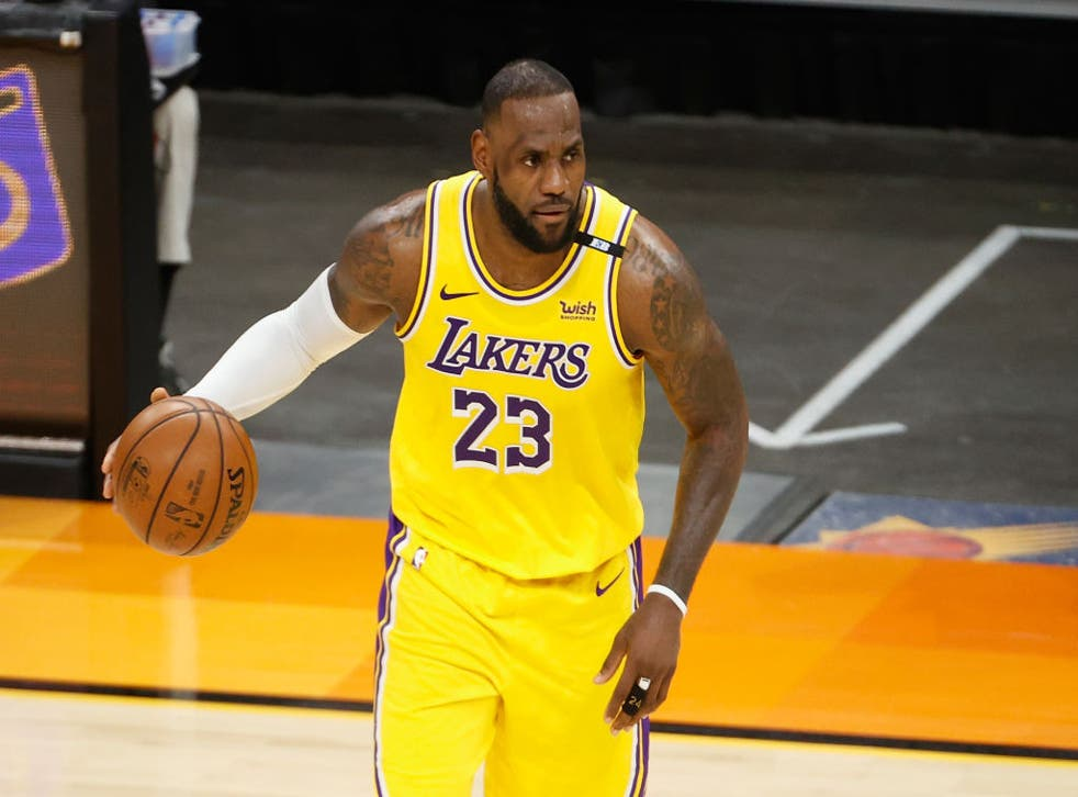 <p>LeBron James has received more than 120,000 negative comments on social media in the past year</p>