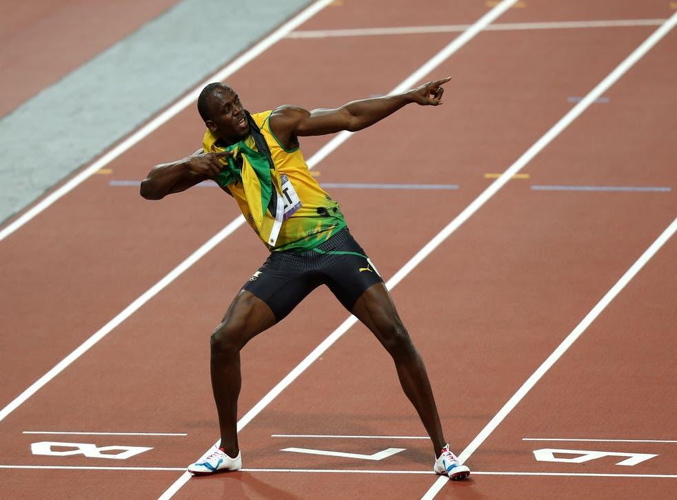 <p>Usain Bolt still holds the 100m world record </p>