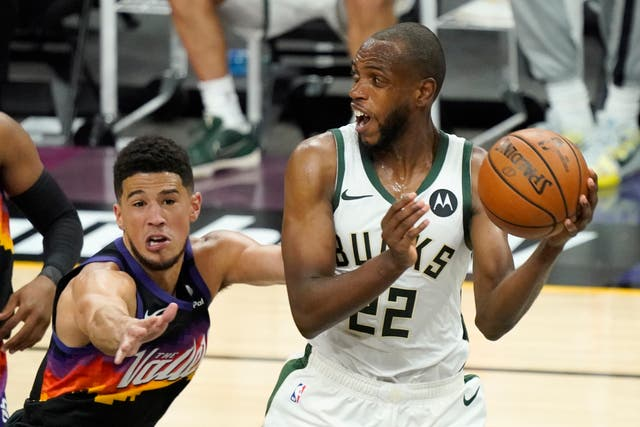 NBA Finals Bucks Suns Basketball
