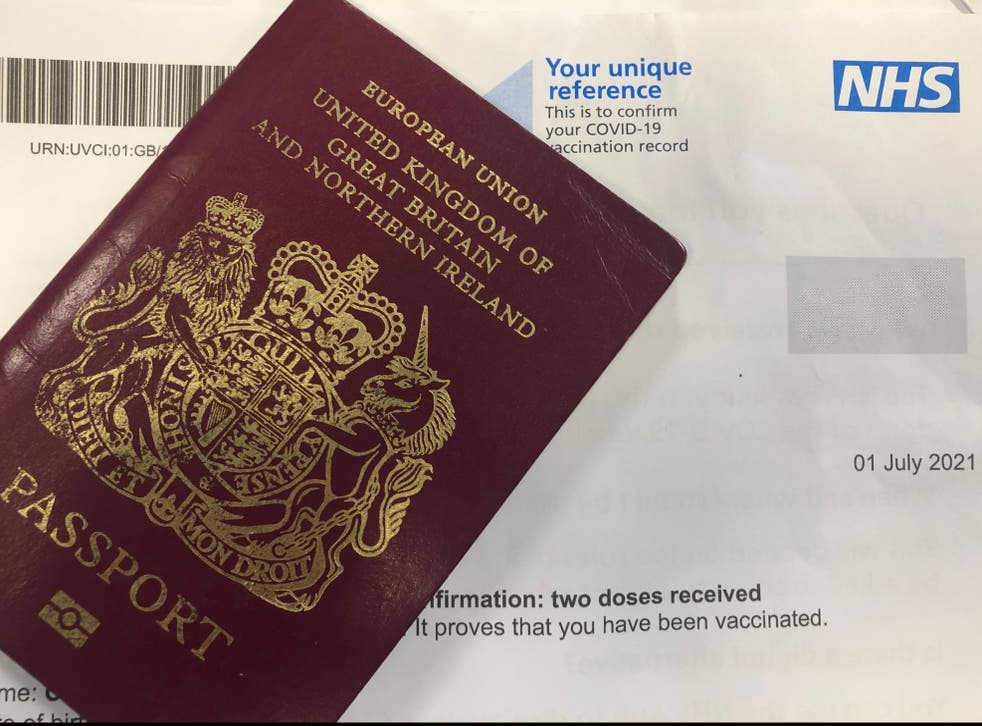 <p>Going places? NHS Covid certification letter</p>