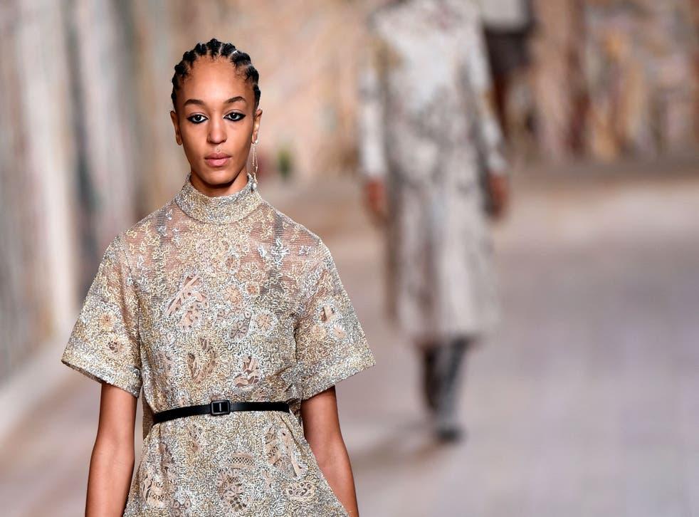 <p>Christian Dior's autumn/winter haute couture collection, Paris</p>
