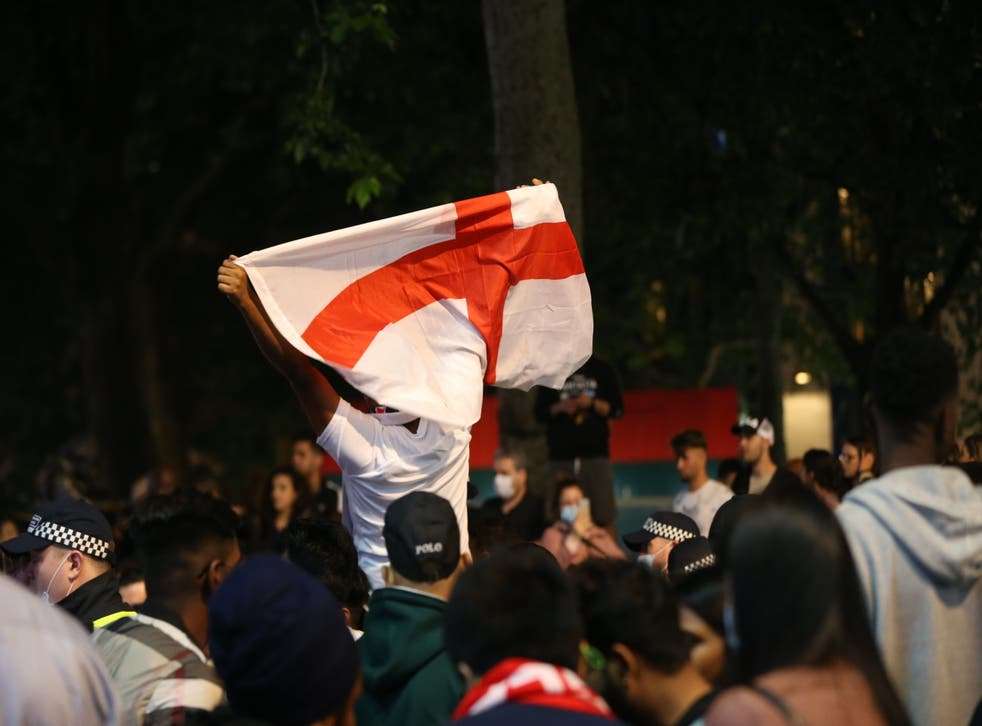 <p>Police say plans are in place for patrols on Sunday night as England take on Italy in the Euro 2020 final</p>