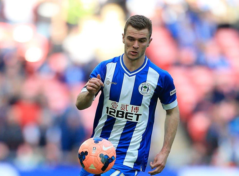 <p>Former Wigan winger Callum McManaman has joined Tranmere</p>
