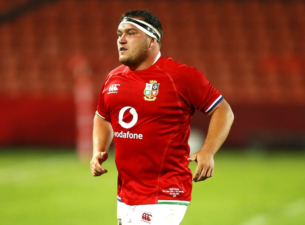 Jamie George leads the Lions against the Sharks on Saturday