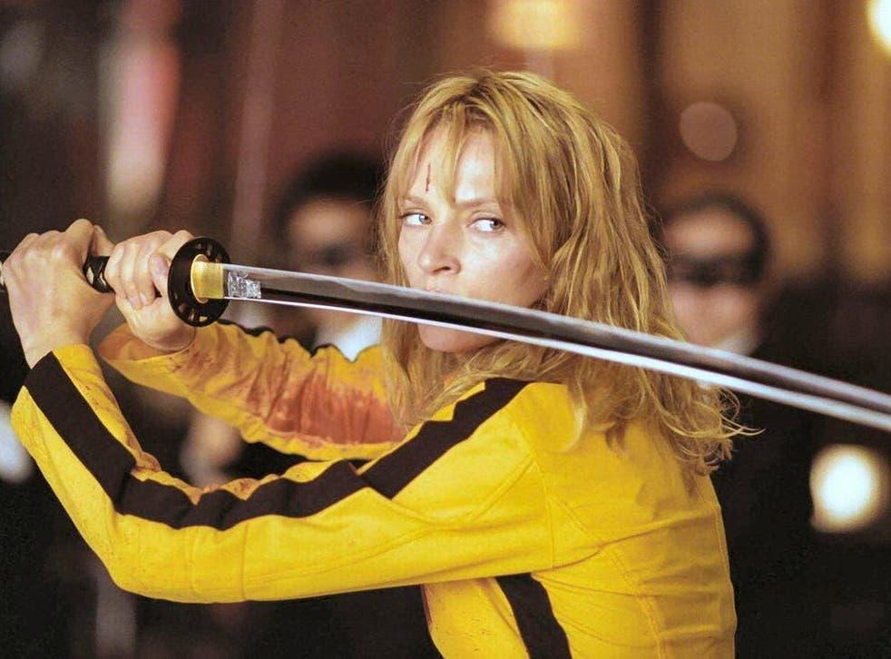 <p>Uma Thurman in the 2003 movie, Kill Bill: Volume I</p>