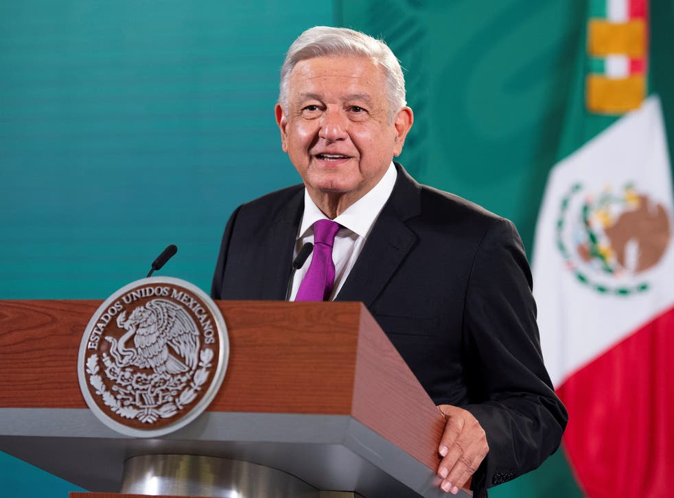 <p>Mr Lopez Obrador said his 'conscience is clear'</p>
