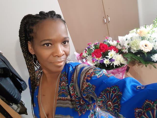 <p>Ms Vitalis, who worked for the NHS for more than 15 years, was rejected under the Windrush Scheme on the basis that she was born in Germany while her father was deployed there</p>