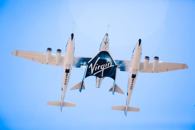 Virgin Galactic Flight Explainer