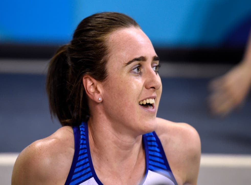 Laura Muir posted a time of one minute 56.73 seconds in Monaco