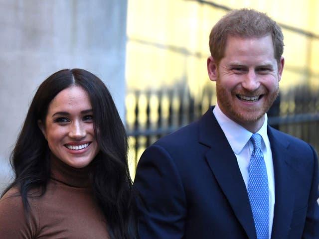 <p>Príncipe Harry y Meghan</p>