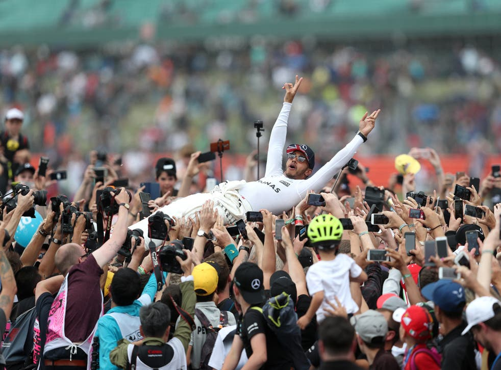 More than 140,000 fans will be at Silverstone for next weekend's race