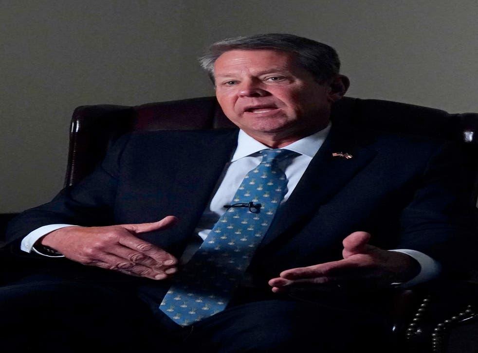 Q A Georgia Governor