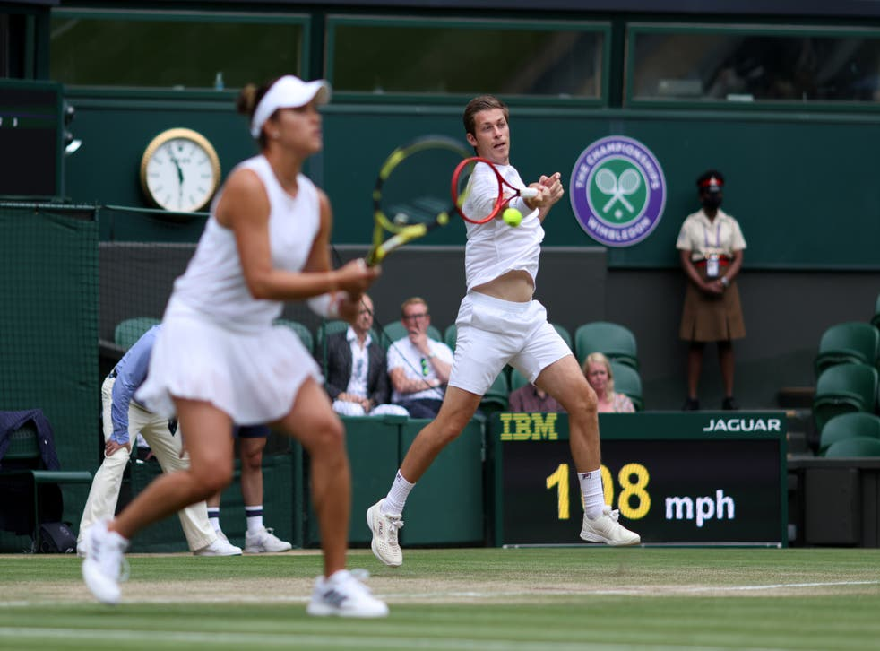 <p>Wimbledon 2021 – Day Ten – The All England Lawn Tennis and Croquet Club</p>
