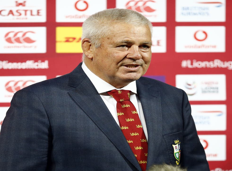 <p>Warren Gatland says the last week has been the most chaotic of his career</p>