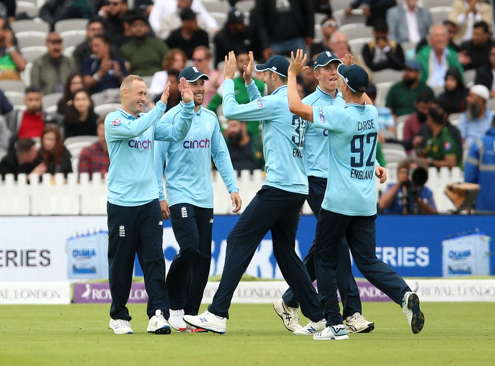 <p>England claimed victory over Pakistan at Lord's</p>
