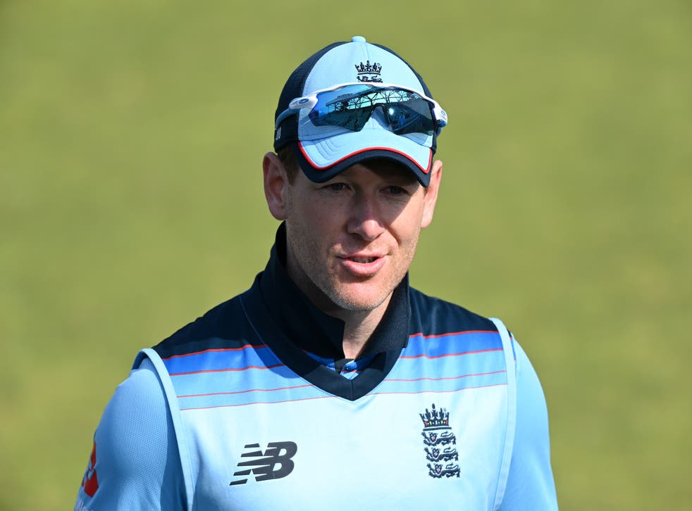 <p>Eoin Morgan has been impressed with the performances of England's makeshift side</p>
