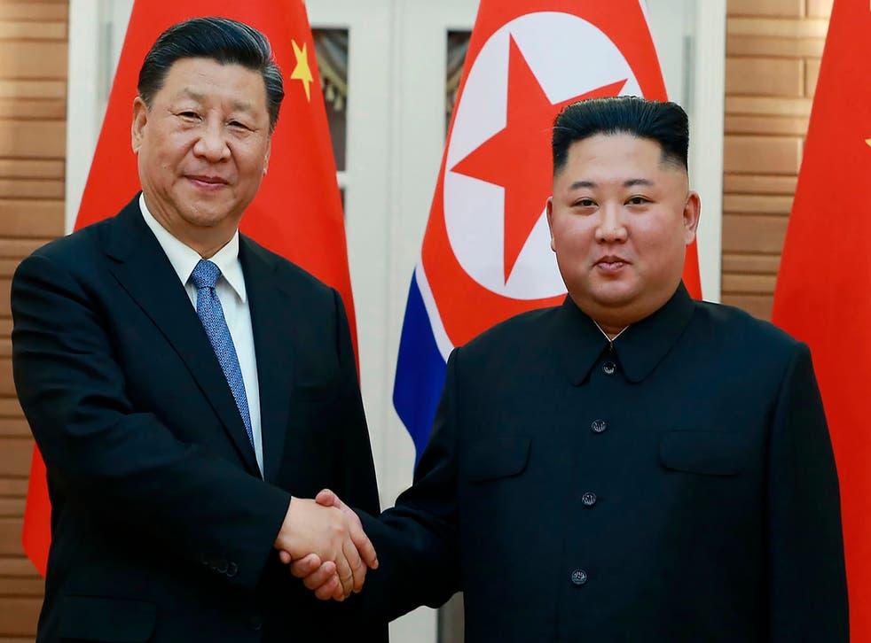 North Korea China