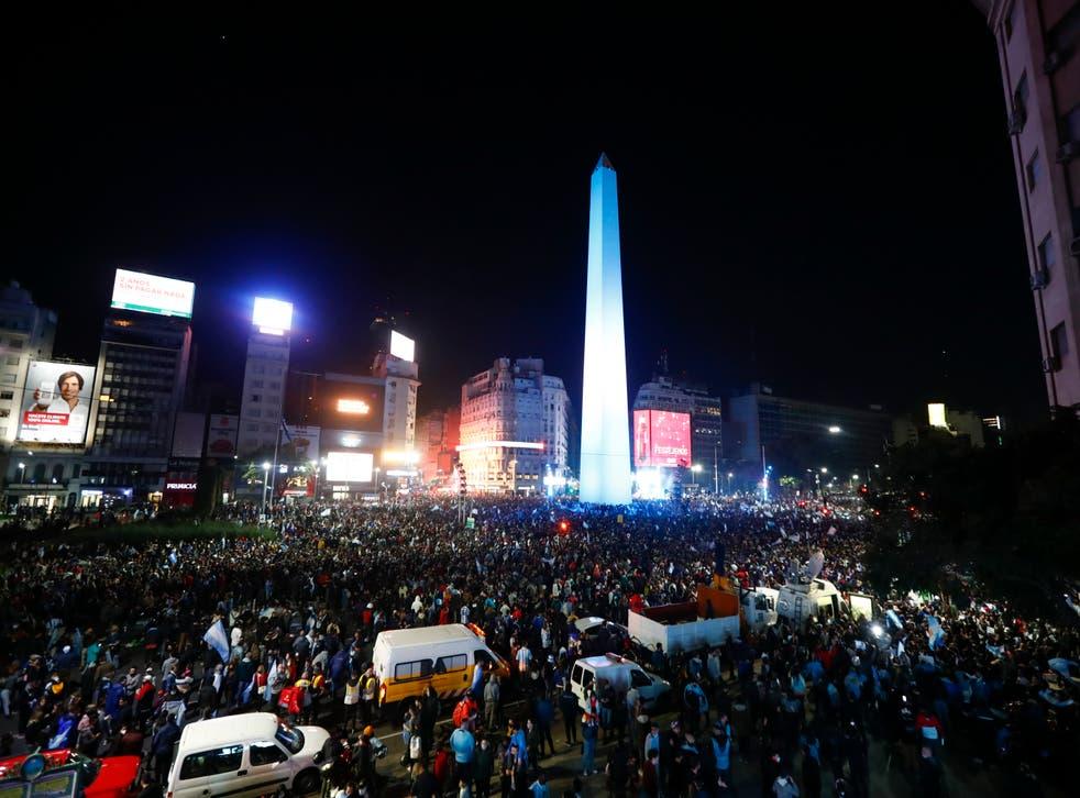 COPA AMERICA FINAL-ARGENTINA