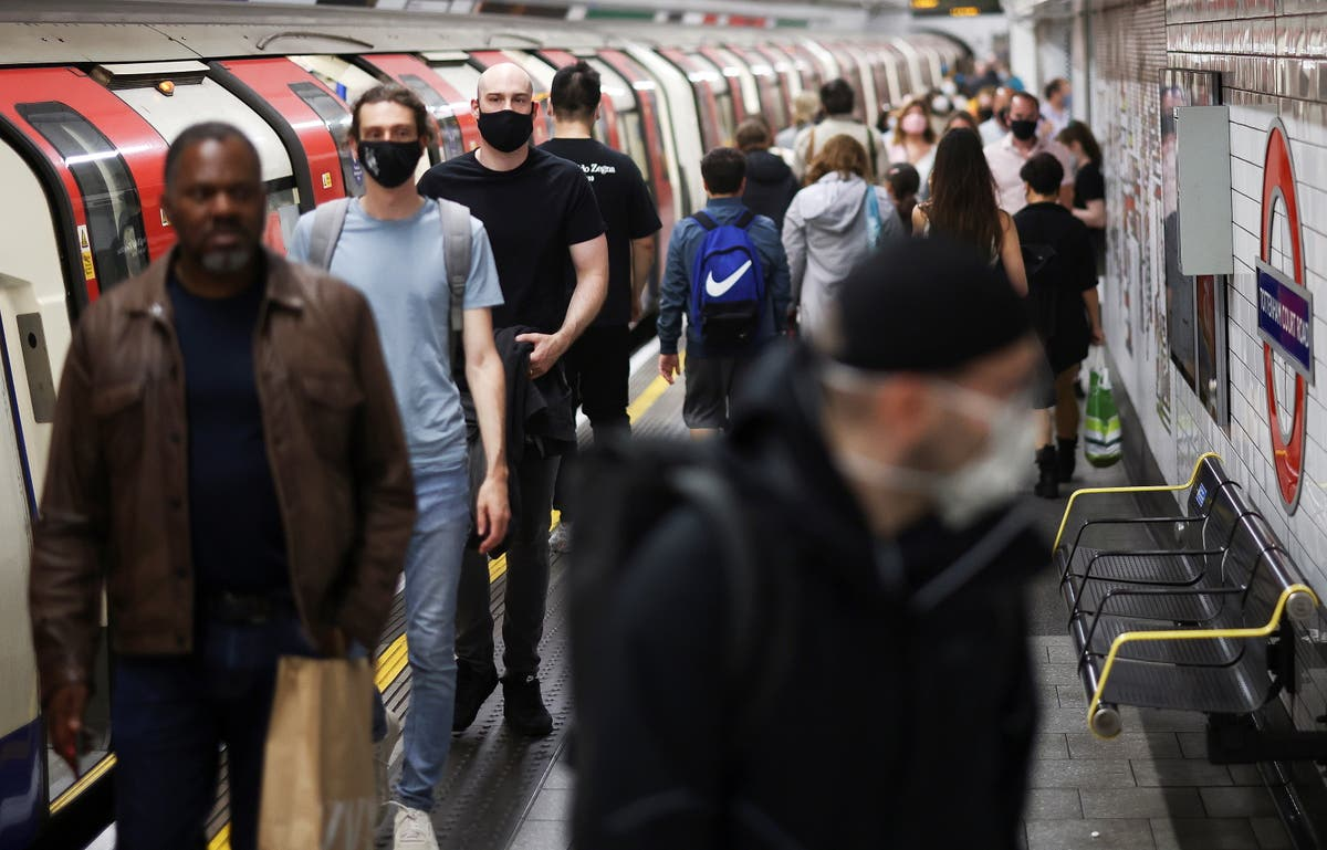 Covid news – live: Public told to wear masks after 19 July, as Test and Trace hires thousands for summer wave