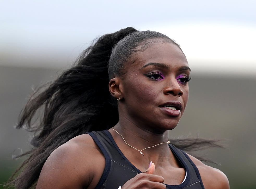 <p>Dina Asher-Smith has withdrawn from the British Grand Prix</p>