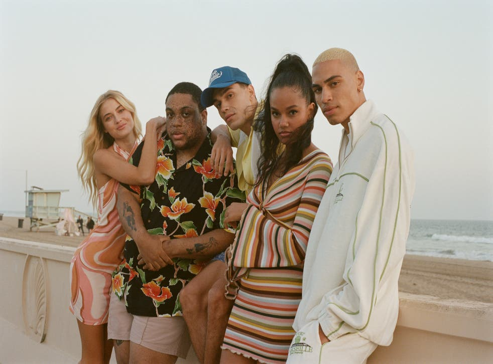 Models wearing Asos clothes