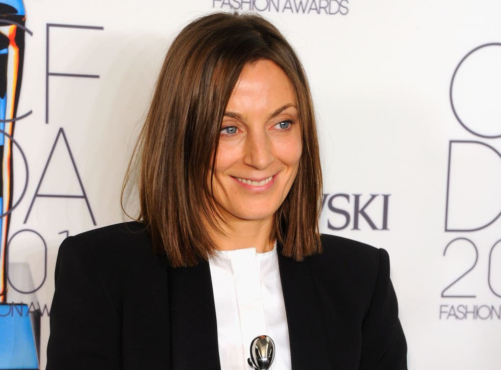 <p>Phoebe Philo at the 2011 CFDA Fashion Awards in New York</p>