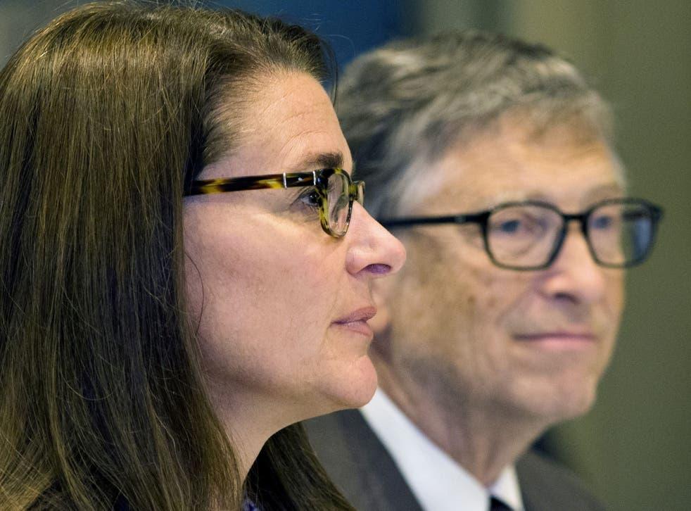 <p>Bill and Melinda Gates</p>
