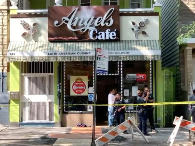 <p>Jaryan Elliot fue asesinado a las afueras de Angels Cafe en el Bronx</p>