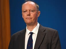 Covid: Third wave peak will put pressure on NHS, says Prof Chris Whitty
