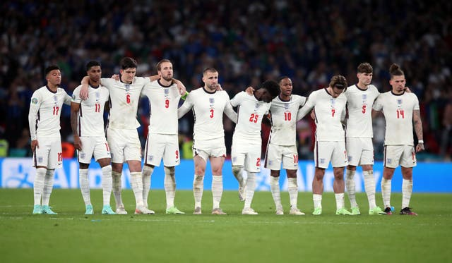 <p>England players reflected on Euro 2020 after their heartbreaking loss to Italy</p>