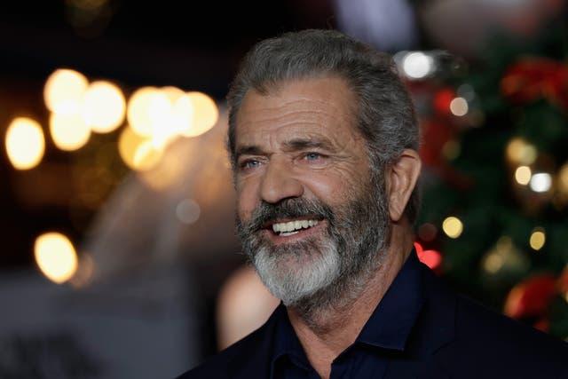 Imagen de archivo: Mel Gibson llega al estreno británico de 'Daddy's Home 2 en 2017