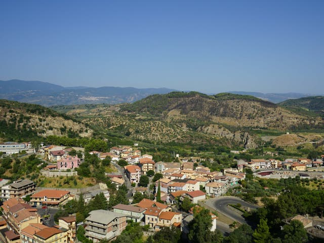 <p>Bribe future: There are incentives to move to villages like this in Calabria</p>
