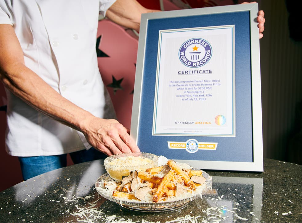 $200 French fries: NYC restaurant sets Guinness World Record - ZEE5 News