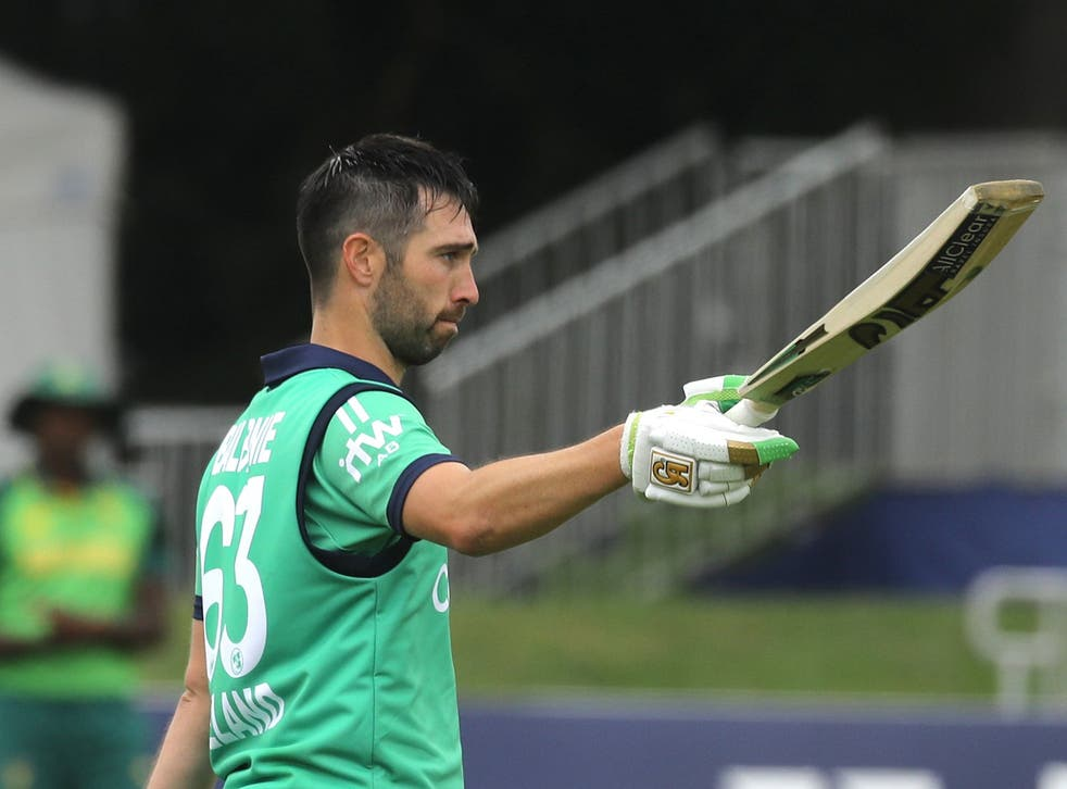 Andy Balbirnie hits ton as Ireland claim historic ODI victory over South Africa | The Independent