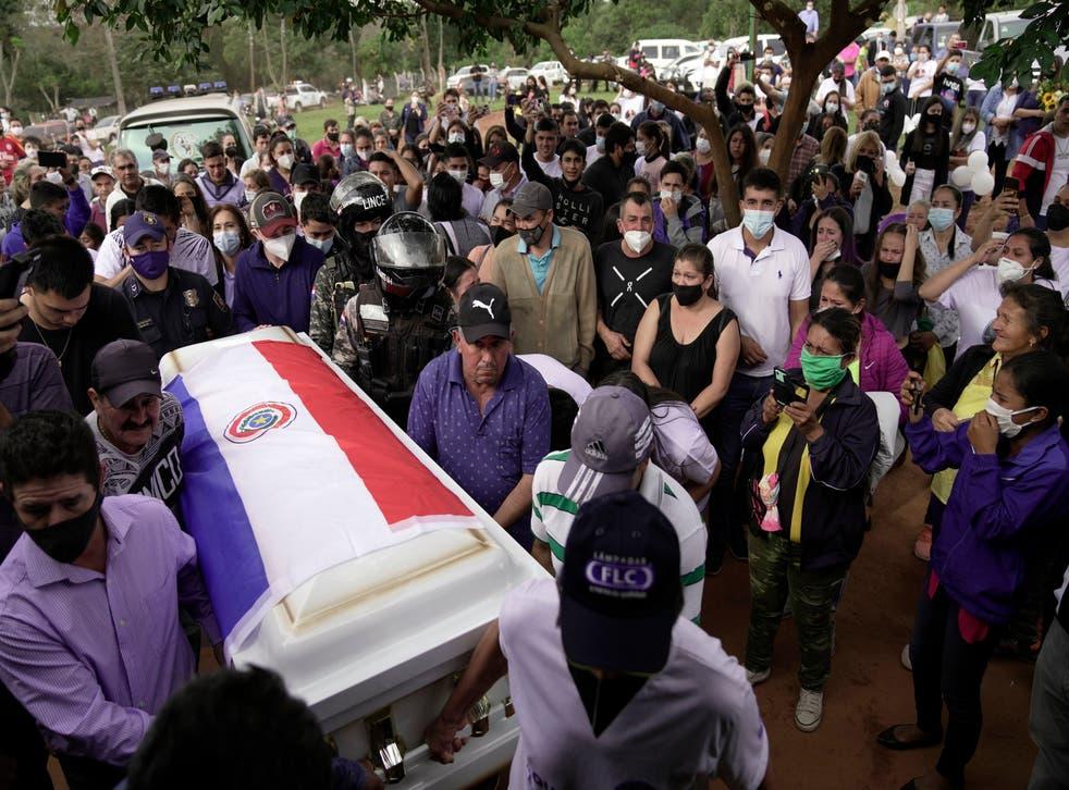 APTOPIX Paraguay Building Collapse Miami - Victims
