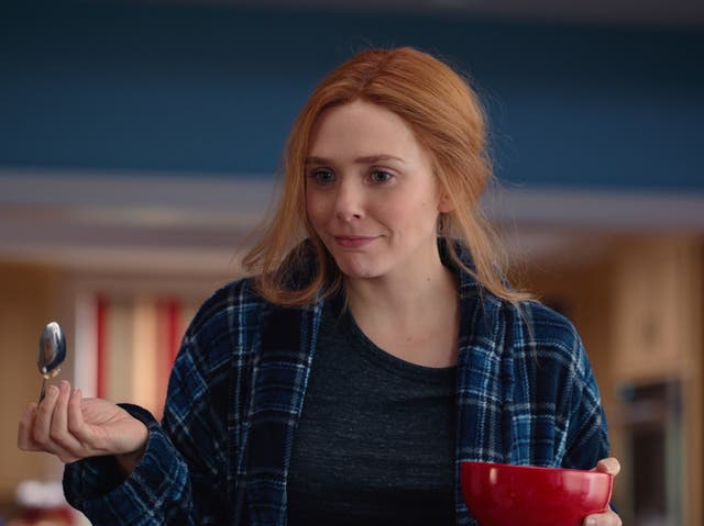 <p>Elizabeth Olsen en 'WandaVision'</p>