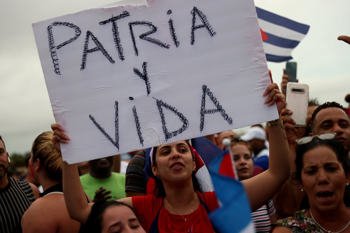 How Cuba's protests are being fuelled by a viral hit song | The Independent