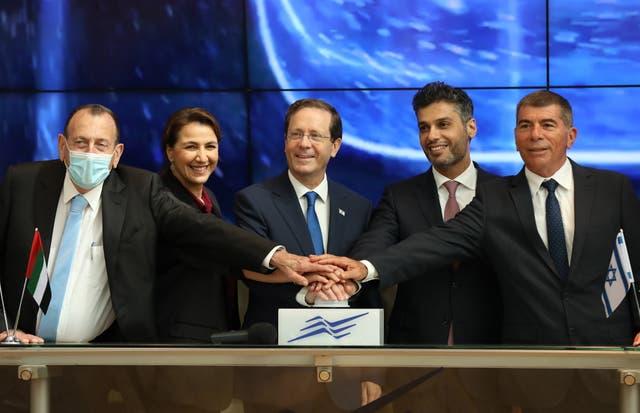 <p>UAE opens new embassy in Tel Aviv</p>