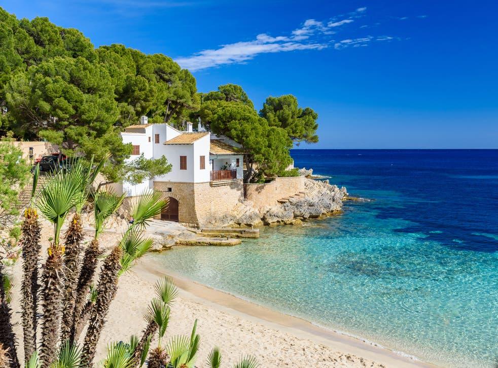 <p>Cala Ratjada in Mallorca</p>