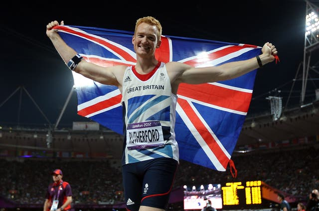 <p>Greg Rutherford was inspired by the home crowd at London 2012</p>
