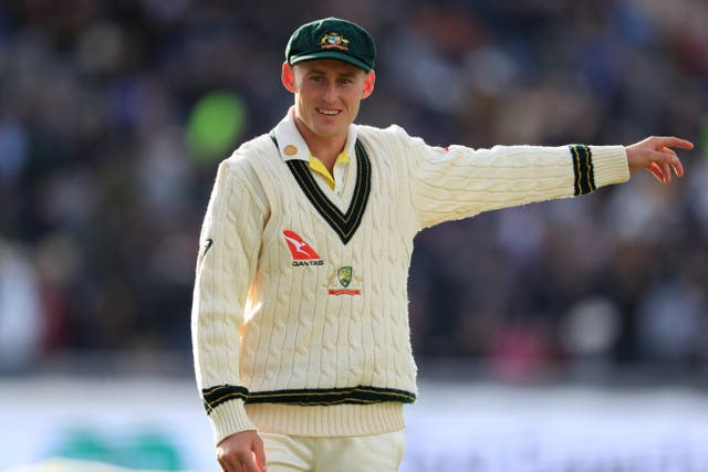 <p>Marnus Labuschagne believes Australia's batsmen will be well-equipped for England's pace bowlers (Mike Egerton/PA)</p>